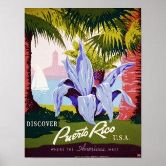Discover Puerto Rico Print