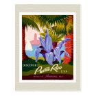 Discover Puerto Rico Souvenir Postcard