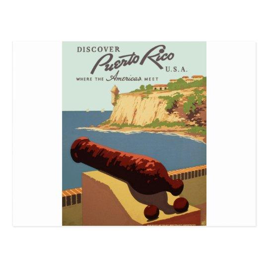 Discover Puerto Rico, Where the Americas meets Postcard