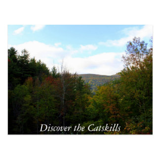 Discover the Catskills 2 Postcard