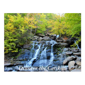 Discover the Catskills 3 Postcard