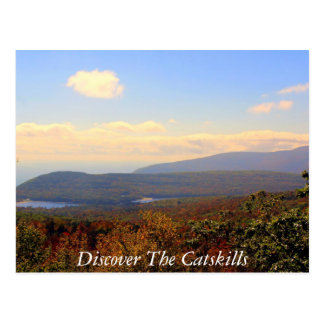 Discover the Catskills 6 Postcard