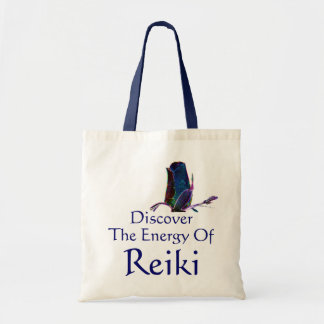 Discover The Energy Of Reiki Tote Bag