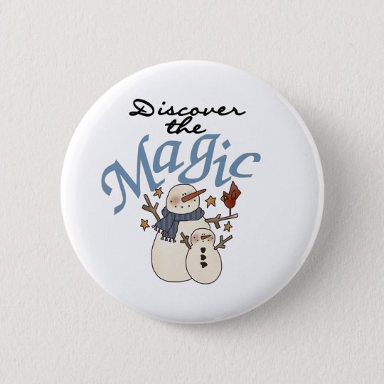 Discover the Magic 6 Cm Round Badge