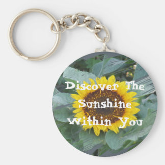Discover The Sunshine Within You - Keychain