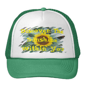 Discover The Sunshine Within You - Trucker Hat