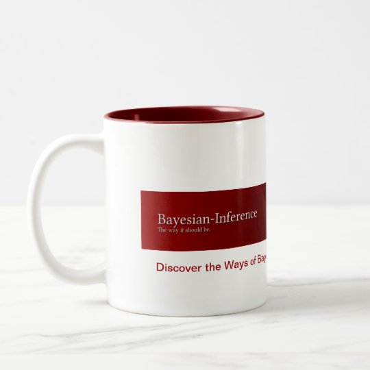Discover the Ways of Bayes, the coffee mug