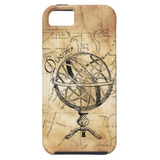 Discover the World Case For iPhone 5/5S