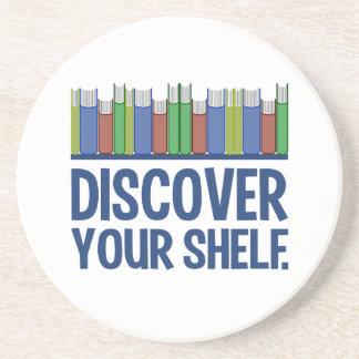 Discover Your Shelf coaster