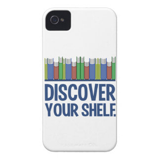 Discover Your Shelf custom iPhone 4 case-mate