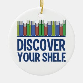 Discover Your Shelf custom ornament