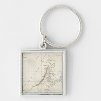 Discoveries made in 1787 In the Seas of China Key Ring