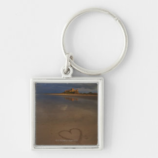 Discovering and falling in love with new places key ring
