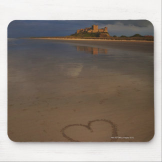 Discovering and falling in love with new places mouse mat