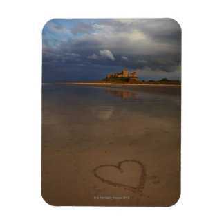 Discovering and falling in love with new places rectangular photo magnet
