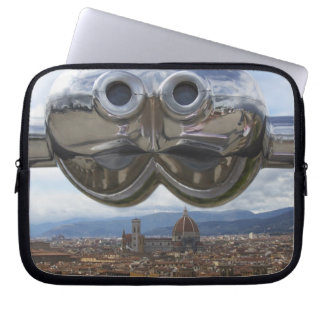 Discovering Florence in Italy Laptop Sleeve