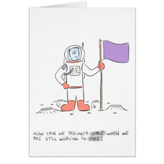 Discovering Space Greeting Card