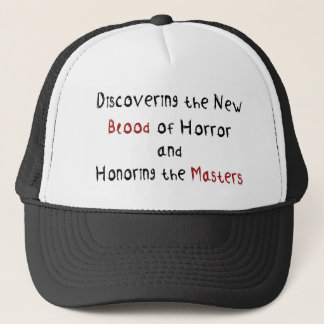 Discovering the new blood of horror trucker hat