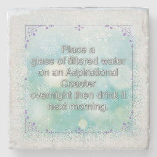 Discovering the Power of Water To Remember Stone Coaster