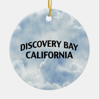 Discovery Bay California Christmas Tree Ornaments