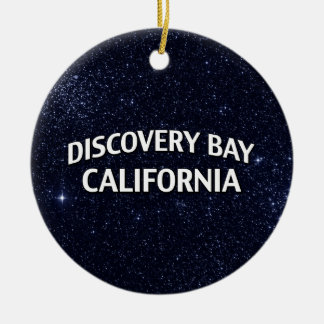 Discovery Bay California Christmas Tree Ornament
