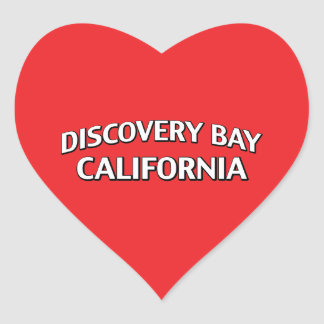 Discovery Bay California Sticker