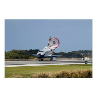 Discovery Comes Home (after STS-133) Print