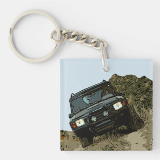 DISCOVERY - DISCO WITH NATURE KEY RING