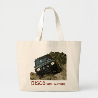 DISCOVERY - DISCO WITH NATURE LARGE TOTE BAG