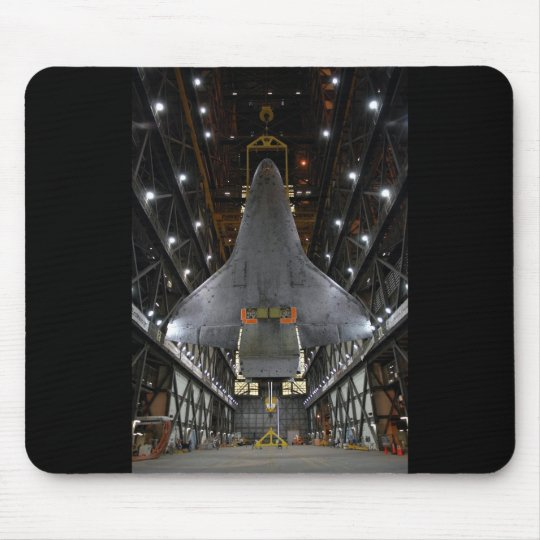 Discovery / Hanger view Mouse Mat