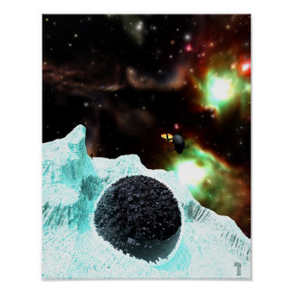 "Discovery in Deep Freeze  (11"" x 14"") Art Print"