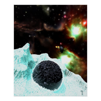 """Discovery in Deep Freeze  (24"""" x 30"""") Art Print"""