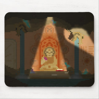 Discovery in the Cave Pixel Art Mouse Mat