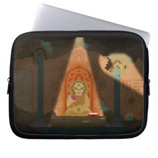 Discovery in the Cave Pixel Art Sleeve