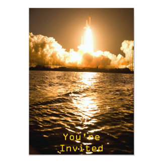 Discovery Lift Off 13 Cm X 18 Cm Invitation Card