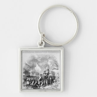 Discovery of America by John and Sebastian Key Ring