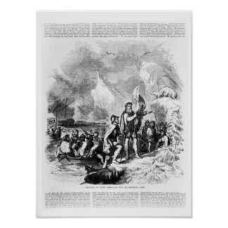 Discovery of America by John and Sebastian Poster