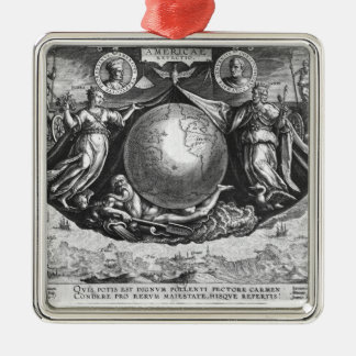 Discovery of America Christmas Ornament