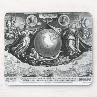 Discovery of America Mouse Pads