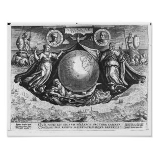 Discovery of America Poster