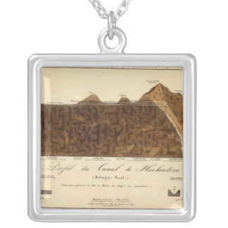 Discovery of Boreales 8 Square Pendant Necklace