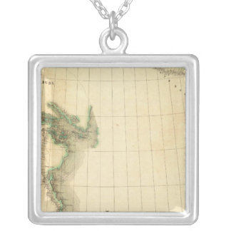 Discovery of Boreales 9 Square Pendant Necklace