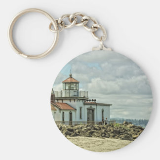 Discovery Park Light House Key Ring
