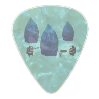 Discovery Pearl Celluloid Guitar Pick
