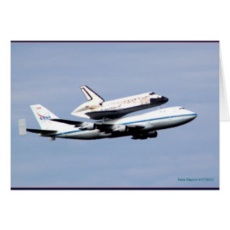Discovery Space Shuttle Final Flight Greeting Card