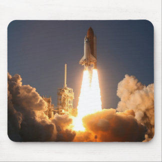 DISCOVERY STS 133 LAUNCH MOUSE PAD