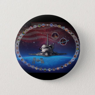 Discovery Tribute 6 Cm Round Badge