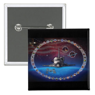 Discovery Tribute Pinback Buttons