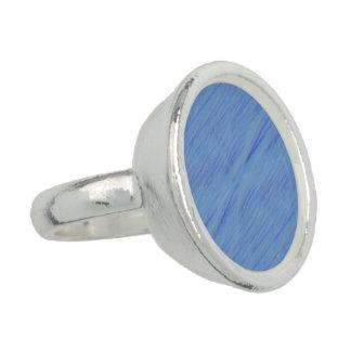 discrete blue rings