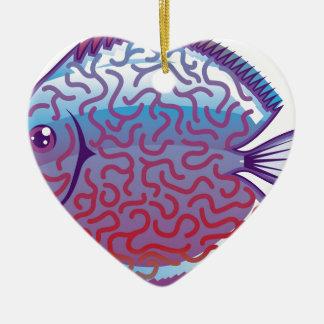 Discus Aquarium fish Christmas Ornament